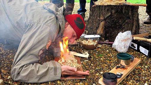 fire-making - Bert Poffé
