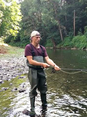 fly fishing - Bert Poffé