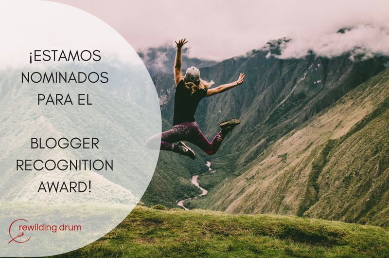 ¡ESTAMOS NOMINADOS PARA EL BLOGGER RECOGNITION AWARD!